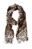 Sciarpa del leopardo Immagini Stock Libere da Diritti