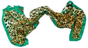 Sciarpa del leopardo Fotografia Stock Libera da Diritti