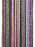 Sciarpa lavorata a maglia variopinta Fotografie Stock