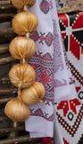 sciarpa Ucraina della Cipolla-lampadina Fotografia Stock Libera da Diritti