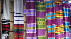 Sciarpe etiopiche di Colorfull fotografia stock libera da diritti