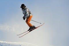 Sciatore Fotografia Stock Libera da Diritti