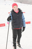 Sciatore sorridente Immagini Stock Libere da Diritti