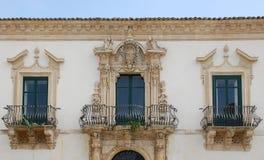 scicli Сицилия Стоковое Изображение RF