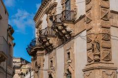 Scicli barocco Royaltyfri Bild