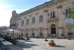Scicli, Sicilia, Italia Fotografia Stock Libera da Diritti