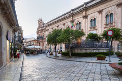 Scicli, Sicily, Italy Stock Images