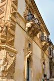 Scicli Sicily Włochy obraz stock