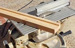 Scie portative de disque, machines-outils de travail du bois Photo stock