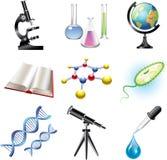 Science and сhemistry  set Stock Photo