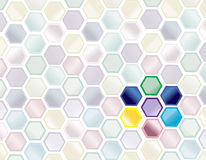 Science abstract background Stock Images