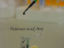 Science and Art Royalty Free Stock Images