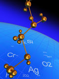 Science background Royalty Free Stock Photography
