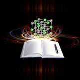 Science background. Scientific innovative  research.Physics background Royalty Free Stock Photos