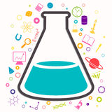 Science Background Royalty Free Stock Photo