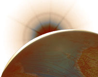 Science backgrounds stock image