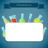 Science banner Royalty Free Stock Images