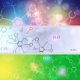 Science Banners Stock Photo