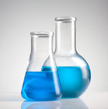 Science beakers Stock Images