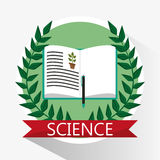 Science biology book learn school Royalty Free Stock Photography