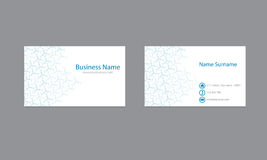 Science Business cards Design Vector Template. Business card template for business Royalty Free Stock Images
