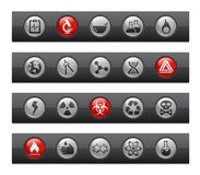 Science // Button Bar Series Royalty Free Stock Photo