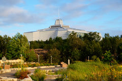 Science center North in Sudbury Ontario Canada. View on science center North in Sudbury Ontario Canada Royalty Free Stock Images