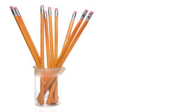 Science Class Pencils Royalty Free Stock Images