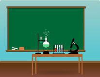 Science class stock photography