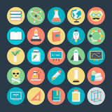 Science Colored Vector Icons 4. We are honored to present to you a set of Science Vector icons pack. It is composed to everything related Science, Bio, Chemistry Stock Image