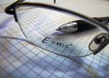 Science concept - physics Stock Images