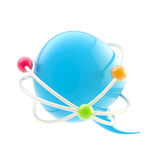 Science conference symbol isolated Stock Image