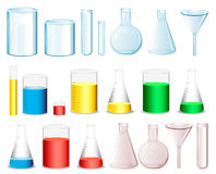 Science containers Stock Photos