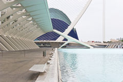 Science and culture center in Valencia Royalty Free Stock Photos