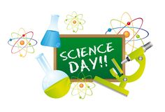 Science day Royalty Free Stock Images