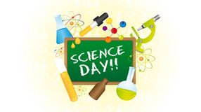 Science Day Royalty Free Stock Photos