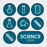 Science design Stock Image