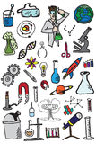 34 Science Doodles Royalty Free Stock Photos