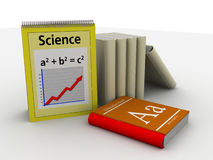 Science and education Royalty Free Stock Image