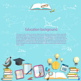 Science and education background chemistry physics Stock Image