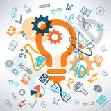 Science and education background Stock Photography