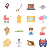 Science, education, medicine and other web icon in cartoon style.Health, recreation, tradition icons in set collection. Stock Photo
