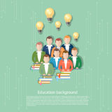 Science and education online education international education Royalty Free Stock Photo