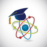 Science education symbol illustration design Stock Photos