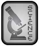 Science emblem Stock Photography