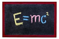 Science equation Stock Photography