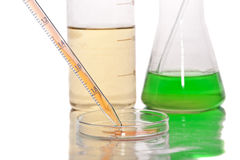 Science equipment. Stock Images