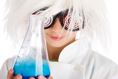 Science Experiment Royalty Free Stock Photos