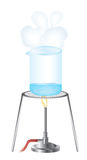 Science experiment stock illustration