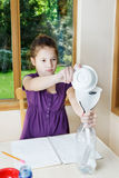 Science Fair project Royalty Free Stock Image